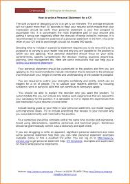 Resume Personal Statement Impressive Resume Examples Of Personal Statements For Resumes Best