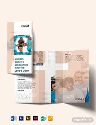 Word Brochure Template Tri Fold Church Fundraiser Tri Fold Brochure Template Word Psd