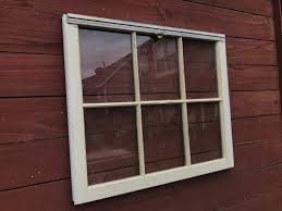 rustic wood window 6 pane wood window old windows old wooden windows reclaimed windows