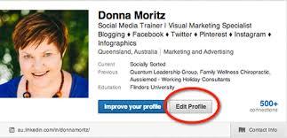 how to enhance your linkedin profile  professional portfolio  editprofilelinkedin