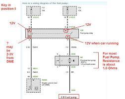 e38 bmw dme wiring original parts for e i m sedan engine Auto Meter Gauge Wiring Diagram Voltage low voltage at fuel pump bmw forums click image for larger version e39fuelpump jpg views 20020 Auto Meter Volt Gauge Wiring