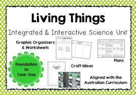 Venn Diagram Living And Nonliving Things Integrated And Interactive Science Unit On Living Things For