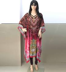 Kaftan Dresses Online Shopping India Long Modest Digital Print