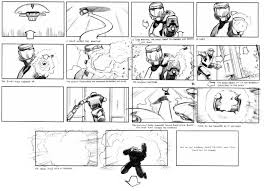 Comic Storyboards 24 Skyfall Types Of Storyboards 4
