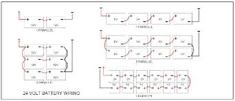 24 volt battery wiring solidfonts 4 battery 24 volt wiring diagram nilza net