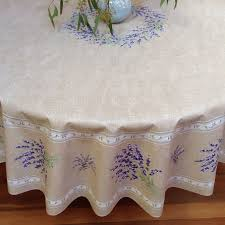70 round or square coated tablecloth