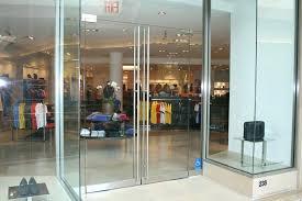 frameless glass doors mall frameless glass doors malta