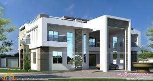 1024 x auto flat roof arabian house plan kerala home design and floor plans
