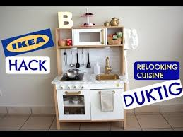 Relooking Cuisine Enfant Ikea Duktig Youtube