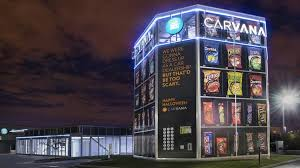 Car Vending Machine Nashville Awesome Carvana Trolls Car Dealerships With One Of The Largest Halloween