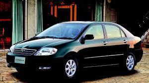 Toyota Corolla Sedan JP spec '08 2000–08 2002 - YouTube