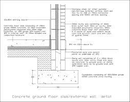 Ground Floor Slab Design Free Cad Details Ground Floor Slab Cad Design Free Cad