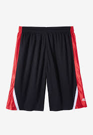 Color Block Shorts By Russell Athletic