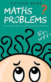 Educational Book Cover Design Maths Problems