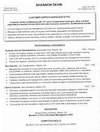 Customer Service Rep Resume R8pf Sample Csr Resume Customer Service