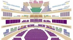 La Opera Seating Chart