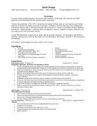 Sample Resume For Microbiologist Best of Sarah's Resume 242424