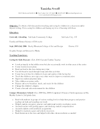 Remarkable Skills For Teaching Resume Tomyumtumweb Com