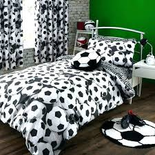 soccer bed sets bedding twin
