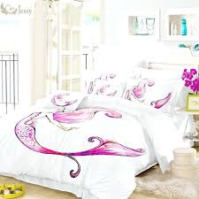 mermaid bedding full awesome home textile mermaid bedding set white burdy fish duvet cover mermaid bedding mermaid bedding