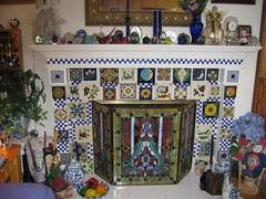 Decorative Tiles For Fireplace Images Pictures and ideas for Mexican Style Fireplaces Mexican 75