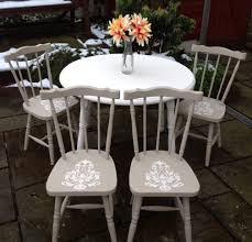 diy shabby chic dining table and chairs. shabby chic extendable farmhouse white dining table \u0026 4 chairs diy and