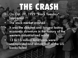Image result for 1929 Black Tuesday