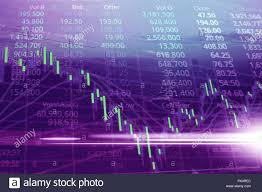 Stock Investment Chart Stock Market Or Trading Graph And Candlestick Chart
