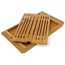 relaxdays bamboo chopping board 3 x 37 x 21 5 cm kitchen cutting