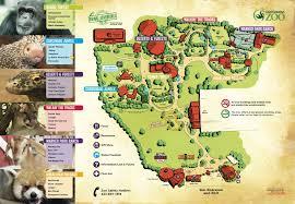 chattanooga zoo  map