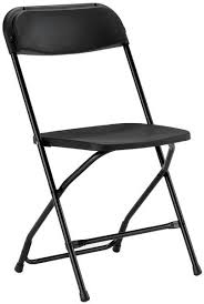 folding chairs plastic. Black Plastic Folding Chair Chairs