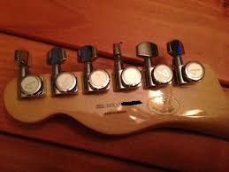 gear i picked up a fender cabronita today pictures video and whoever had it previously put on fender locking tuners