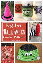 Halloween Crochet Patterns Enchanting Best Free Halloween Crochet Patterns Crafty Tutorials