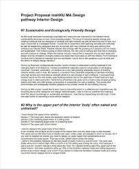 9 Interior Design Proposal Templates Pdf Word Free