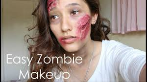 easy zombie makeup tutorial for if i can do it you can