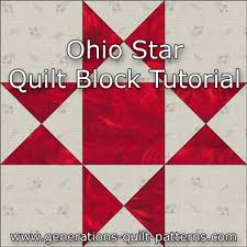 free 9 inch star quilt block patterns | Quilt Pattern Design & Free Star Quilt Block Patterns ohio star quilt block illustrated step step  instructions in 5 ... Adamdwight.com