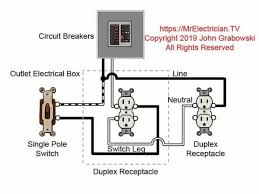 switched outlet wiring diagrams mr Outlet Wiring Design Light Switch Outlet Wiring Diagram