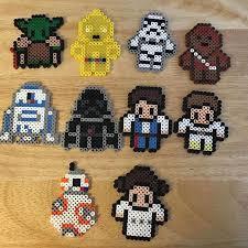 Star Wars Perler Bead Patterns Custom Star Wars Perler Beads By Mammaoftwins Perler Beads Pinterest