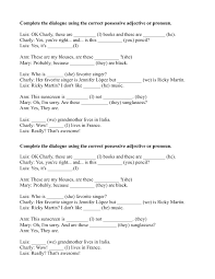 Possessive Worksheet Free Worksheets Library | Download and Print ...