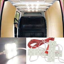 inside lighting. Discount 12v 10x4 Led Car Interior Lighting Lamp Waterproof Inside Roof Light Kit For Rv Van Boat Trailer Bright White From China | Dhgate.Com