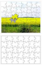 A Blank Puzzle Template For Making Your Own Puzzle. | Pbis ...
