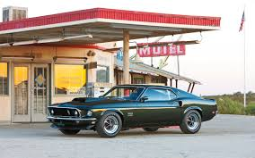 1969 Ford Mustang Boss 302, 1969 Ford Mustang Boss 429, and 1971 ...