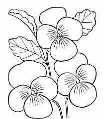 Small Picture Printable Flower Coloring Pages All Coloring Page