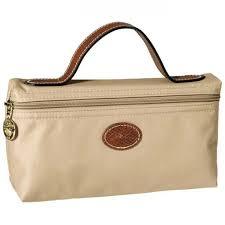 designer longch beige cosmetic bags uk
