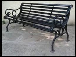 727 wrought iron garden benches at rs
