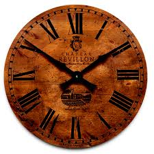 brookpace lascelles large french wall clock wood
