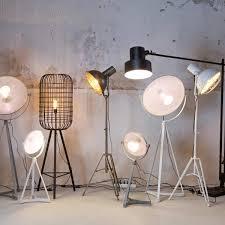 Industriële Lamp Bepurehome Spotlight Metaal Wit