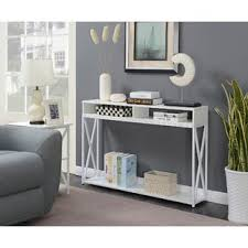 Narrow up to 10 White Console Tables Youll Love Wayfair