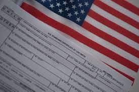 a certified copy of a birth certificate