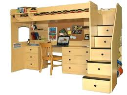 full size bunk bed with desk underneath the best bed with desk underneath ideas on bunk